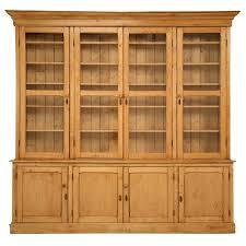 original unrestored antique english pine china cabinetbookcase antique english pine armoire