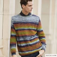 Sweater - <b>Man</b> - <b>Autumn</b> / <b>Winter</b> - models & patterns | Katia.com