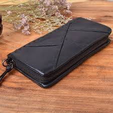 <b>AETOO Original handmade</b> wallet men <b>retro</b> patchwork wallet <b>first</b> ...