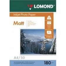 <b>Бумага А4 180г</b>/<b>м2</b> матовая <b>Lomond</b> 0102014 купить с доставкой ...