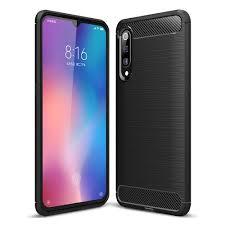 <b>ASLING Carbon Fiber</b> Series <b>TPU</b> Shell Phone Case for Xiaomi Mi 9 ...