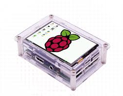 <b>New 3.5 inch TFT</b> LCD Touch Screen Display + Case + Heat sink ...