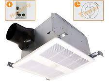 sensing bathroom fan quiet: kaze appliance seth quiet bathroom exhaust fan w humidity sensor amp delay timer