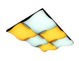 Управляемый потолочный <b>светильник Ambrella FP2356</b> WH ...