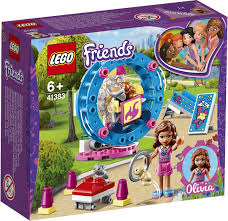 <b>Конструктор LEGO Friends</b> 41383 <b>Игровая</b> площадка для хомячка ...