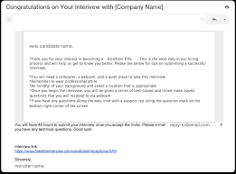 building on demand custom email templates interview help center note you can create these on a company department or position specific level you are not limited to the number of templates on the platform