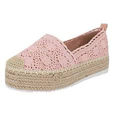 <b>Women's</b> Platform Loafers Hollow Boat Shoes Casual Shoes <b>Solid</b> ...