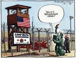Image result for Guantánamo bay CARTOON