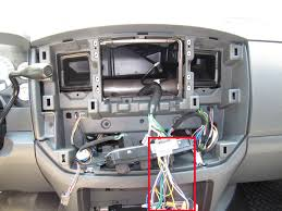 06 08 convert 1 5 din to double din aftermarket radio dodge ram 2007 Dodge Radio Wiring Harness this is the harness fully plugged in, the antenna plug will require an adapter i purchased everything i needed for this installation on ebay 2007 dodge nitro radio wiring harness