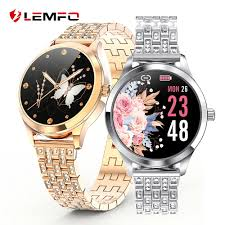 <b>LEMFO LW07</b> Smart Watch Women 2.5D DIY Watch Face IP67 ...