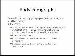 language analysis essay writing