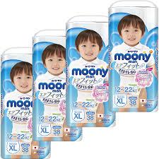 Купить <b>Трусики</b>-<b>подгузники Moony Man</b> для мальчиков XL (12-22 ...