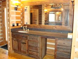 country themed reclaimed wood bathroom storage: saveemail dcdf w h b p contemporary bathroom reclaimed wood