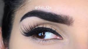 Try On of All <b>Huda Beauty</b> Lashes - Sal_Qu - YouTube
