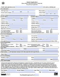 free kansas rental application form – pdf templaterelated forms