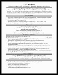 math college instructor resume example of yoga resume job application sample