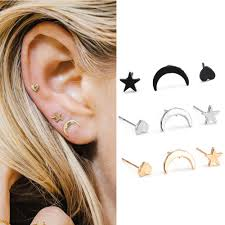 <b>Women's Fashion</b> Jewelry <b>Lady</b> Bug Stud Earrings 67-3 foreignlang ...