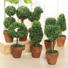 artificial potted plant plastic garden grass ball topiary tree pot home desk decor at banggood artificial topiary tree ball plants pot garden
