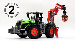 Лего Техник 42054 Трактор – Обзор 2 / Lego <b>Technic</b> 42054 Claas ...