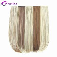 Chorliss <b>24 inch</b>(<b>60cm</b>) Long Straight Women Clip in Hair ...