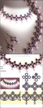 колье из бисера | Бисерные <b>украшения</b>, Как делать <b>ожерелье</b> ...