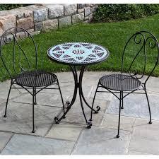 wrought iron patio furniture bistro sets apothecary style furniture patio