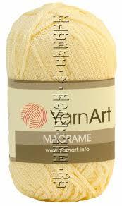 <b>YarnArt</b>   <b>Пряжа Macrame YarnArt</b> - (<b>165</b> - Шампанское)   Интернет ...