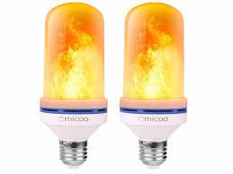 Omicoo <b>LED Flame Effect Light</b> Bulb — Tools and Toys
