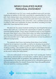 perfect newly qualified nurse personal statement   nurse personal    writing a successful newly qualified nurse personal statement