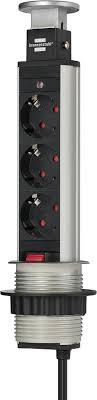 1396200003 <b>Brennenstuhl удлинитель Tower Power</b>, 2 м., черный ...