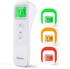 HAMSWAN Non-Contact <b>Digital Infrared Forehead Thermometer</b> ...