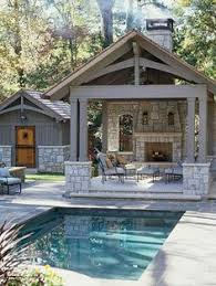 of the Most Gorgeous Pool Houses We    ve Ever Seen   Pool House    Ideas for your backyard pool   as inviting and relaxing as you can get    gailcorcoran realtor