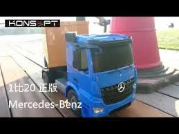 <b>Спецтехника р/у</b> 1:20 Mercedes Контейнеровоз E564-003 +акб ...