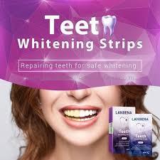 <b>Отбеливающие полоски</b> для зубов LANBENA (<b>Ночные</b>)