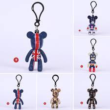 klf-<b>Gloomy Bear</b> Key Chain Creative Bear Doll Key Ring For <b>Kids</b> ...