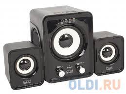 <b>Колонки CBR</b> CMS 725 2.1 Black — купить по лучшей цене в ...