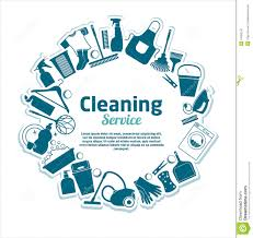 cleaning services vector illustration stock vector image  cleaning services vector illustration
