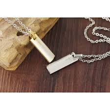 Silver ROSENICE Mens Titanium Steel <b>Pendant Necklace</b> Bible ...