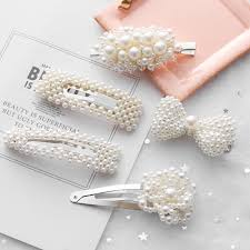 2019 <b>New Arrival Elegant</b> Pearl Hairgrip <b>Women</b> Hair Clips Pin for ...