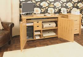 aston solid oak hidden home office baumhaus aston solid oak hidden