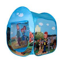 """Детская игровая <b>палатка домик</b> для детей """"<b>Простоквашино</b> ..."""