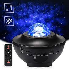 <b>2</b> in 1 Starry <b>Night Light</b> Lamp & Ocean Wave Projector with Remote ...