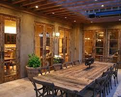 patio alfresco dining room