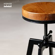 french industrial design to do the old retro iron chair bar chairs stool rotating lift buy industrial furniture