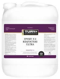 <b>Грунтовка TURY</b> F-5 <b>Влагостоп</b> ULTRA (5 кг) — купить по ...