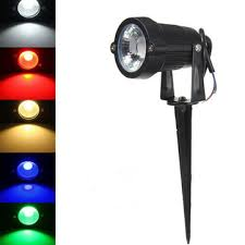 3w <b>ip65 led flood light</b> with rod for outdoor landscape garden path ...