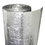 Silver bubble wrap insulation