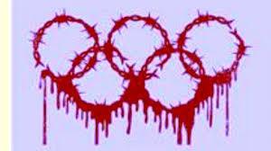 Afbeeldingsresultaat voor charge tocha olimpica