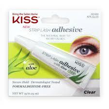 Kiss <b>Клей</b> с алое для накладных <b>ресниц</b>, <b>Прозрачный</b> Strip Lash ...
