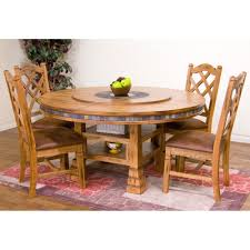 dining table with wheels:  dining room table and chairs with wheels inspiration sedona wood round dining table chairs in rustic